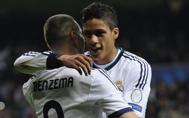 Karim Benzema Raphael Varane Real Madrid