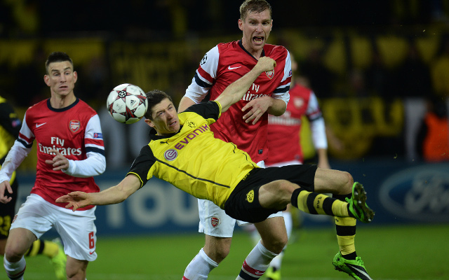 Mertesacker Koscielny Arsenal