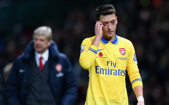 Arsenal star Mesut Ozil's brilliant first-half passing display: Infographic
