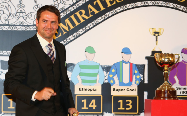 Former Liverpool star Michael Owen out to win the Melbourne Cup