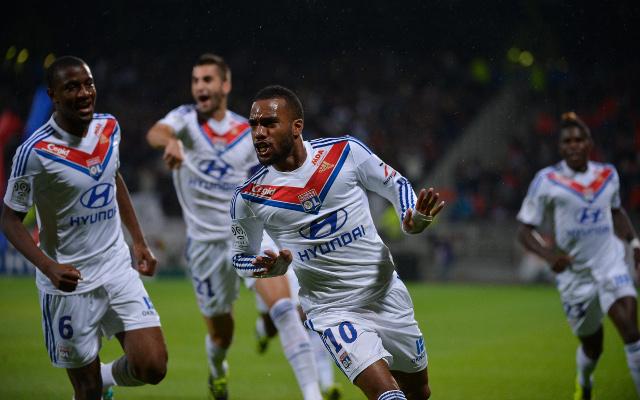 Olympique Lyonnais Lyon Alexandre Lacazette