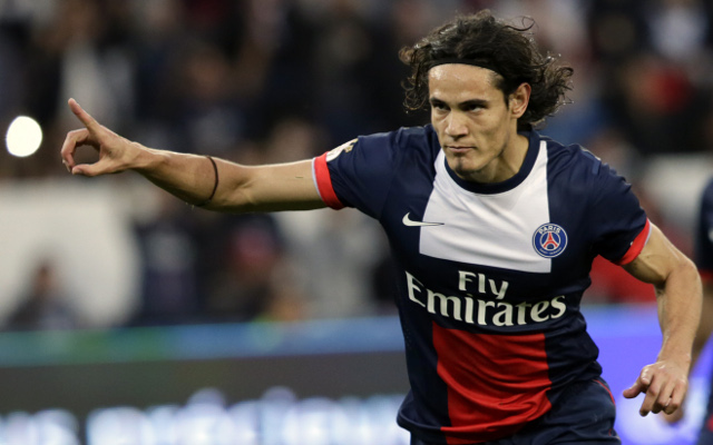 PSG Paris Saint-Germain Edinson Cavani