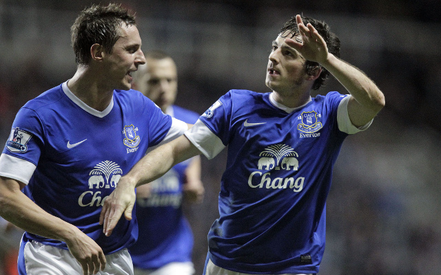 Phil Jagielka Leighton Baines Everton