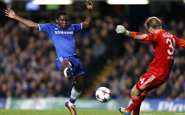 Twitter reacts to Eto'o's cheeky goal for Chelsea in Champions League against Schalke
