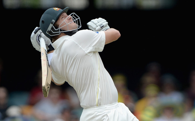 (Video) Australia v India: OH NO! Shane Watson falls just short of a century yet again in the fourth Test