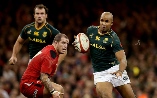 South Africa's veterans lead the way to victory against Wales