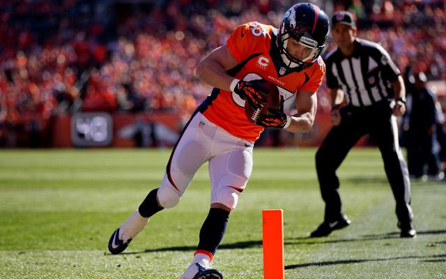 Denver Broncos star Wes Welker returns from injury for NFL playoffs