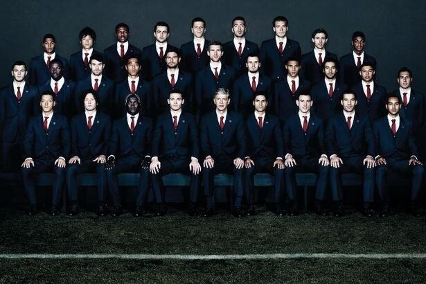 arsenal in suits