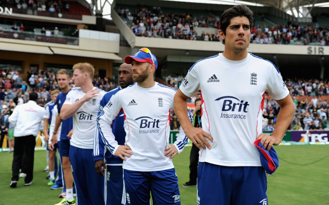 "Alastair Cook says English cricket team is ""hurting like hell"""