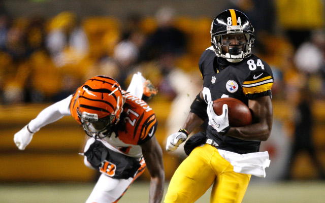 NFL highlights: Pittsburgh Steelers' Antonio Brown scores from a 63-yard punt return