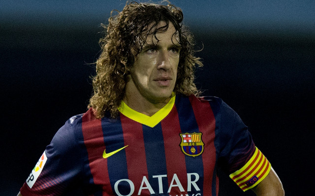 (Video) Barcelona legends kiss goodbye to Carles Puyol