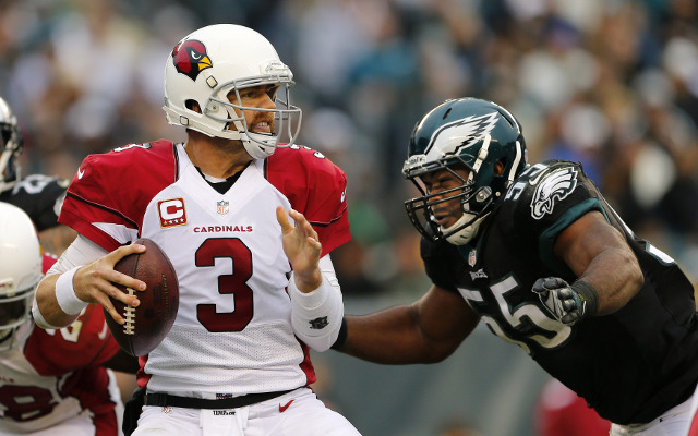 Arizona Cardinals' Carson Palmer limited by elbow injury