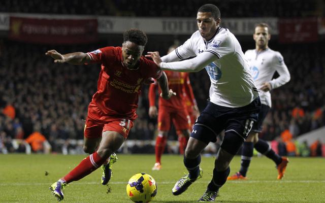 Etienne Capoue Tottenham Raheem Sterling Liverpool