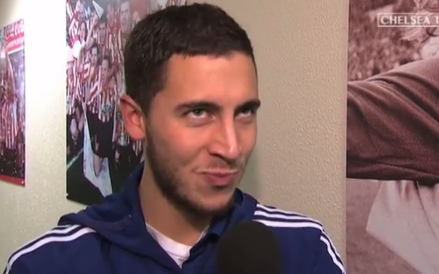 Be the best! Jose Mourinho issues Eden Hazard challenge after new Chelsea deal