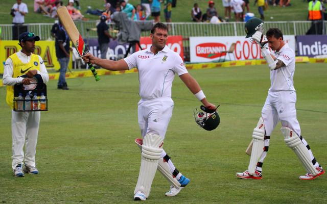 (Video) Jacques Kallis scores a century in his final Test match