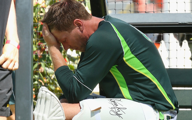 Ashes hopes for James Faulkner dashed after broken thumb
