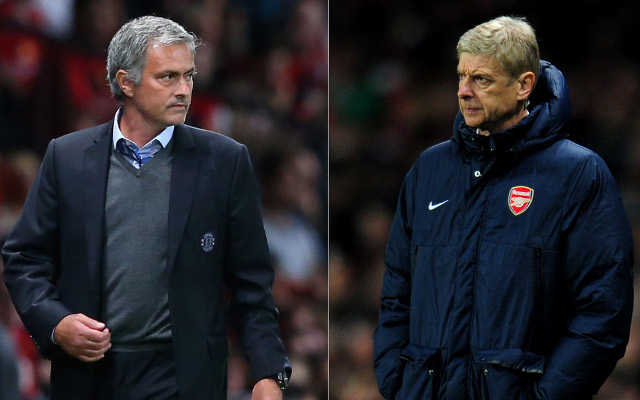 Internet explodes as Chelsea and Arsenal managers clash in London derby