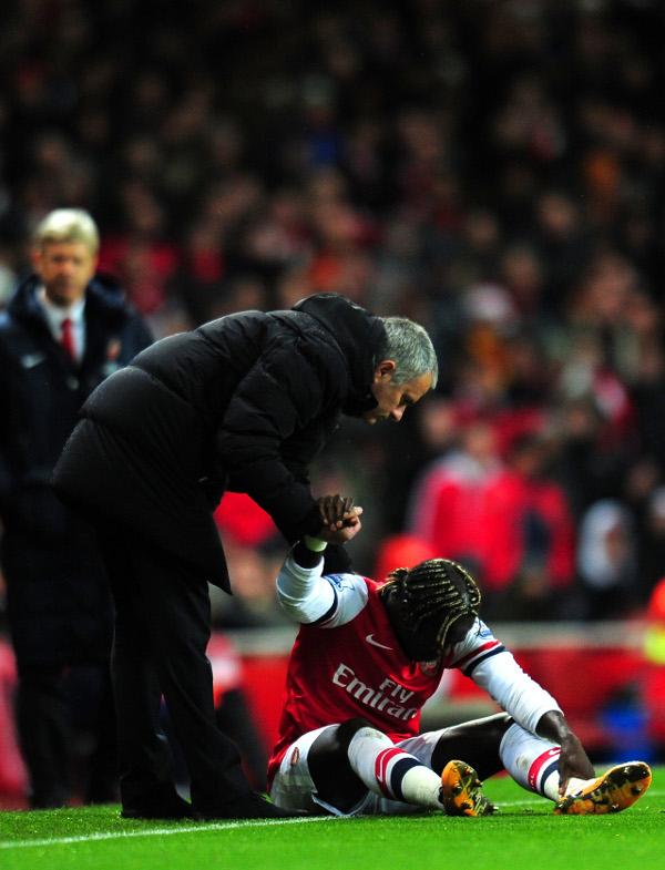 Jose Mourinho Bacary Sagna Arsenal chelsea