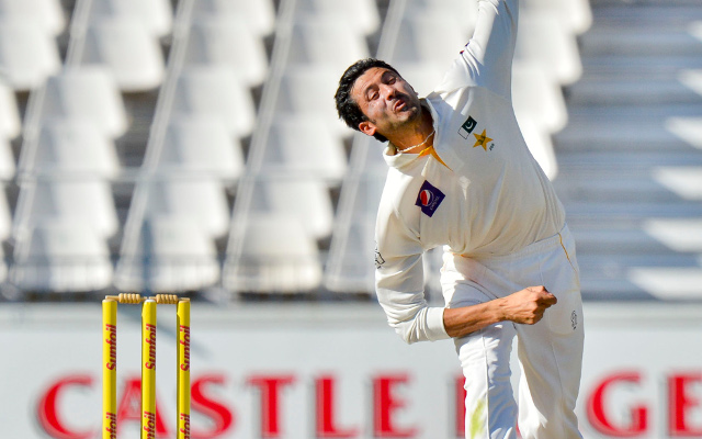 Pakistan fast bowlers strike early in Test match against Sri Lanka