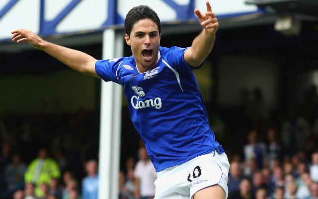 Mikel Arteta Everton