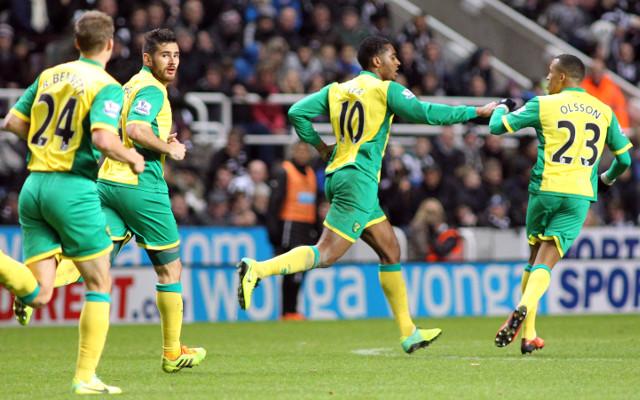 Norwich City Ryan Bennett Bradley Johnson Leroy Fer Martin Olsson