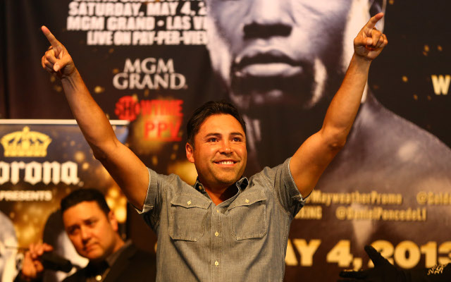 (Video) Boxing news: Oscar De La Hoya would fight Gennady Golovkin if he made comeback