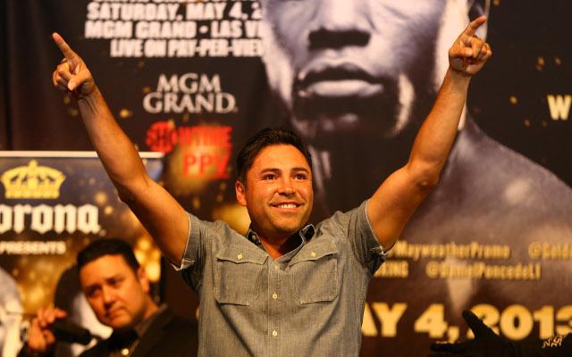 (Video) Boxing news: Oscar De La Hoya would fight Gennady Golovkin if he made comeback