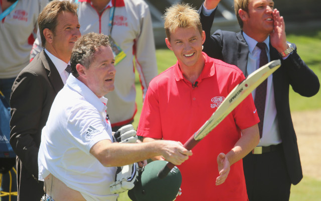 Former Test cricket great says Brett Lee could have killed Piers Morgan