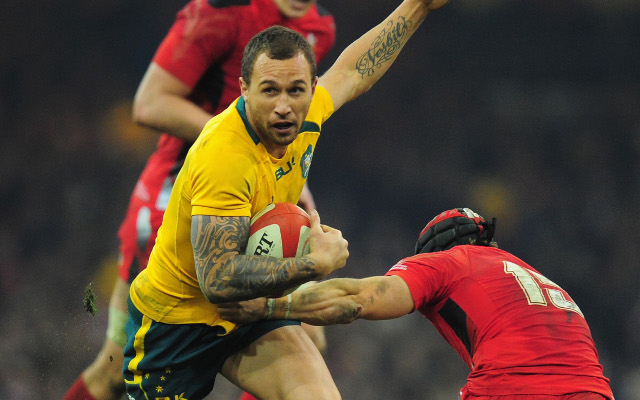 Quade Cooper stars for the Wallabies in thrilling win over Wales