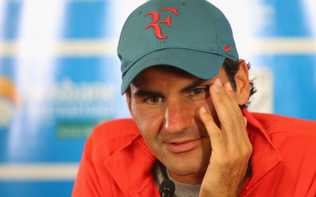 Rodger Federer says he can win a Grand Slam singles title in 2014