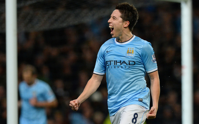 "Private: Man City will not show Barcelona ""too much respect"" says Samir Nasri"