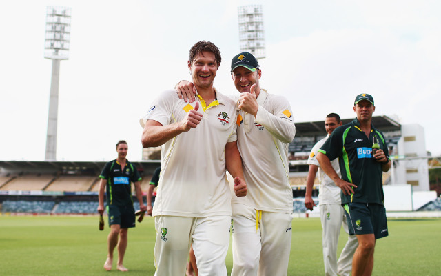 Ashes news: Michael Clarke pays tribute to Shane Watson as a teammate