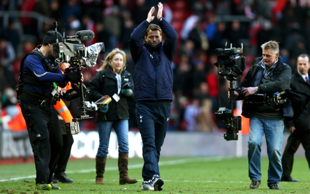 'I bleed Tottenham,' says new boss Tim Sherwood