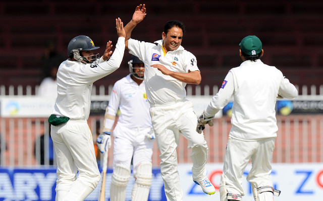 Pakistan v Sri Lanka: scorecard update, third Test match – day four