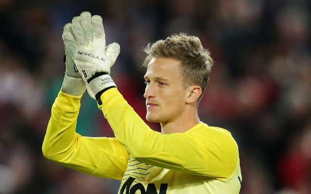 Anders Lindegaard Manchester United