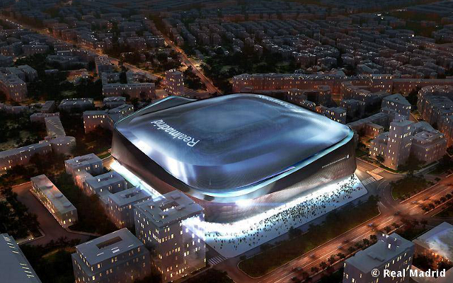 (Image) Real Madrid release images of new Santiago Bernabeu stadium