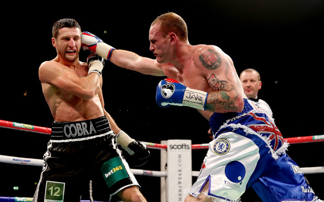 IBF orders Carl Froch to give George Groves a re-match within 90 days