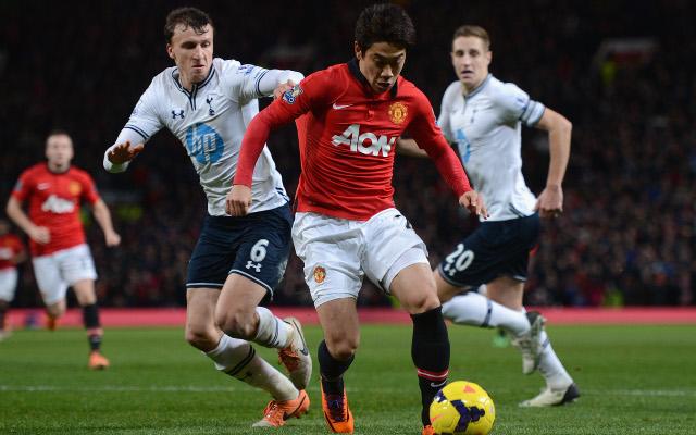 Dawson Chiriches Kagawa Tottenham Man United