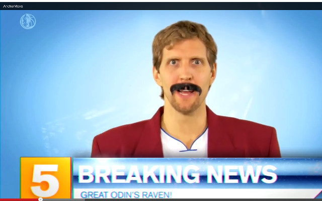 (Video) Dallas Mavericks impersonate Anchorman cast