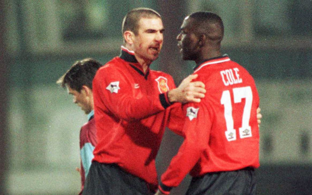 Eric Cantona Andy Cole Manchester United