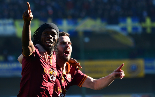 Former Arsenal and Chelsea flops combine for impressive Roma goal (video)