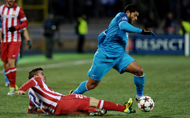 Hulk Zenit Alderweireld Atletico