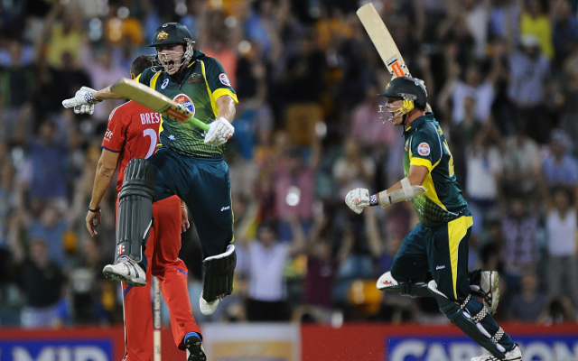 (Video) James Faulkner highlights: See the Aussie's amazing batting heroics