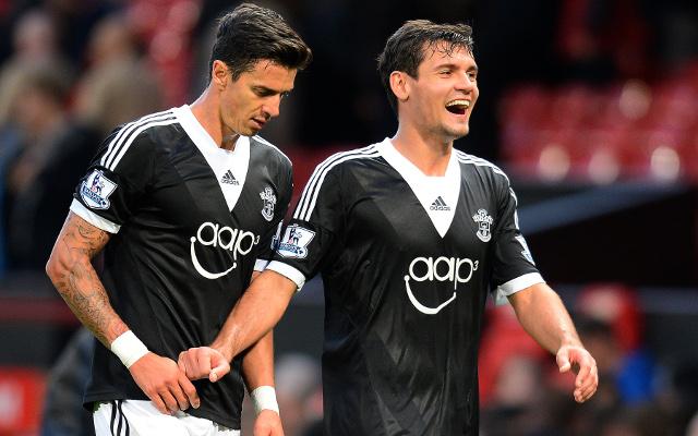 Jose Fonte Dejan Lovren Southampton