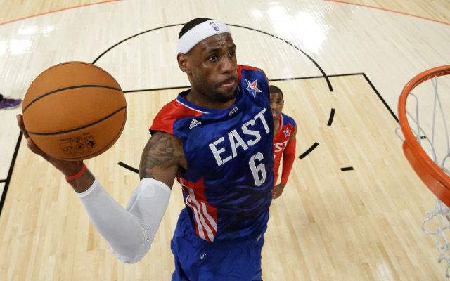 (Video) Miami Heat star LeBron James set for one-on-one All-Star interview