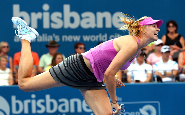 Serena Williams to meet Maria Sharapova in Brisbane International semis
