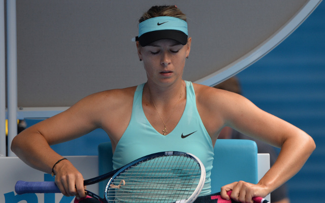 Maria Sharapova beaten by Dominika Cibulkova at Australian Open tennis