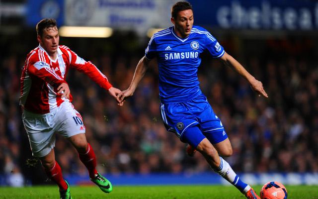 Marko Arnautovic Stoke City Nemanja Matic Chelsea