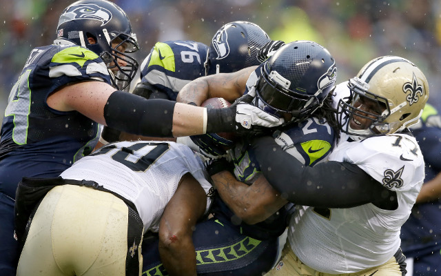 Seattle Seahawks beat New Orleans Saints 23-15 in NFL divisional playoff game