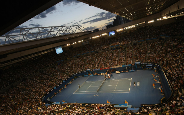 British man charged with running courtside betting at Australian Open
